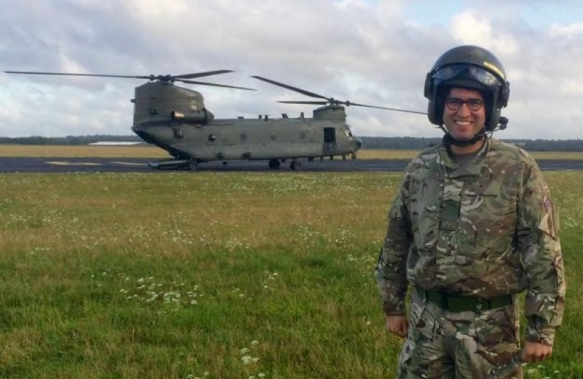 Ranil Jayawardena MP and Chinook