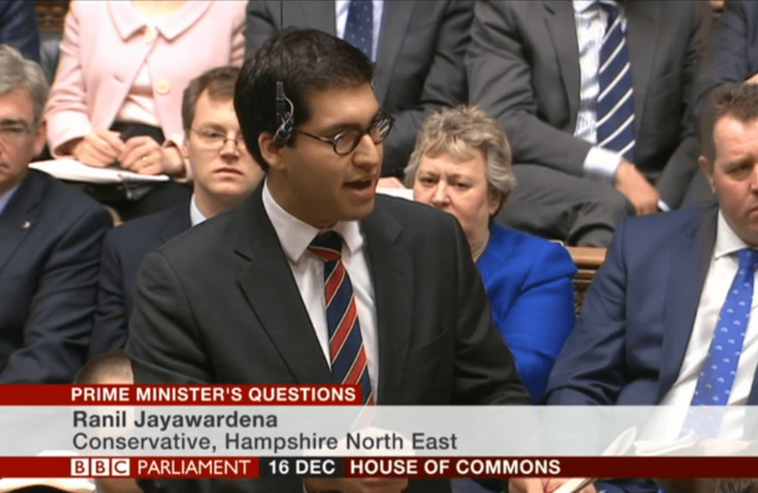 Ranil in the House of Commons