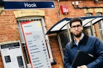 Ranil Jayawardena MP at Hook station