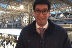 Ranil Jayawardena MP at London Waterloo