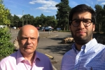 Cllr Steve Forster and Ranil Jayawardena MP
